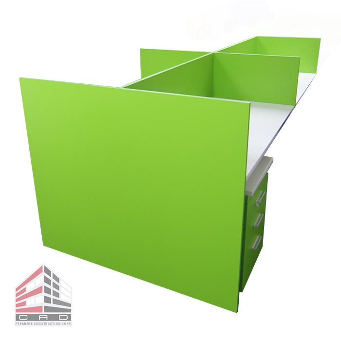 Partition System- Laminated Panel